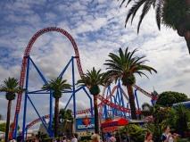 Movie World roller coaster